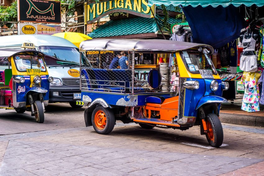 tuktuk 1643802 1920 The Basic Costs Of A Digital Nomad In Thailand