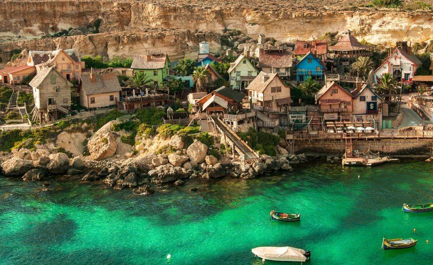popeye village 4158038 1920 The Best (Cheap) Hotels in Malta