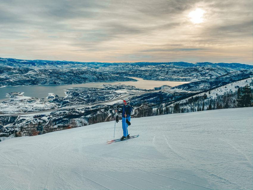 Andrea Cannon at Deer Valley in Park City Utah The Best Ski Resorts in the Western United States