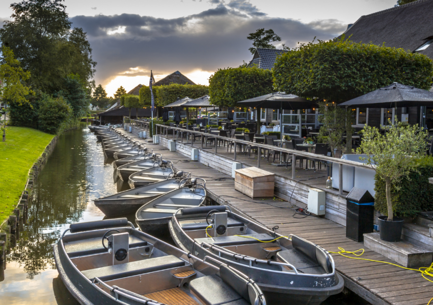 Boats for Rent in Giethoorn Exploring the Dutch Village of Giethoorn