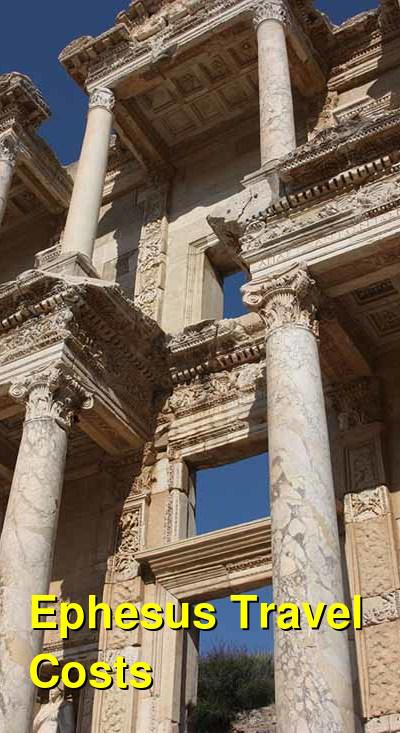 Ephesus Travel Cost - Average Price of a Vacation to Ephesus: Food & Meal Budget, Daily & Weekly Expenses | BudgetYourTrip.com