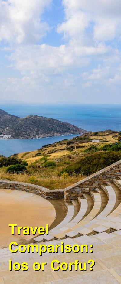 Ios vs. Corfu Travel Comparison