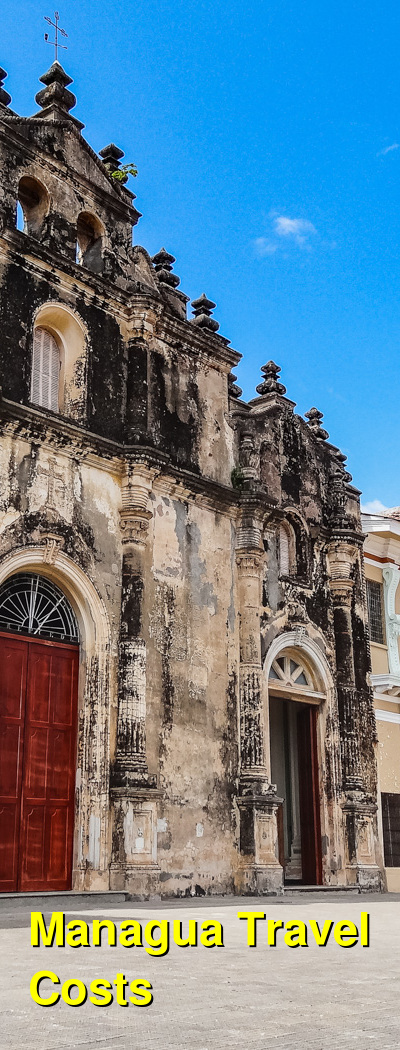 Managua Travel Cost - Average Price of a Vacation to Managua: Food & Meal Budget, Daily & Weekly Expenses | BudgetYourTrip.com