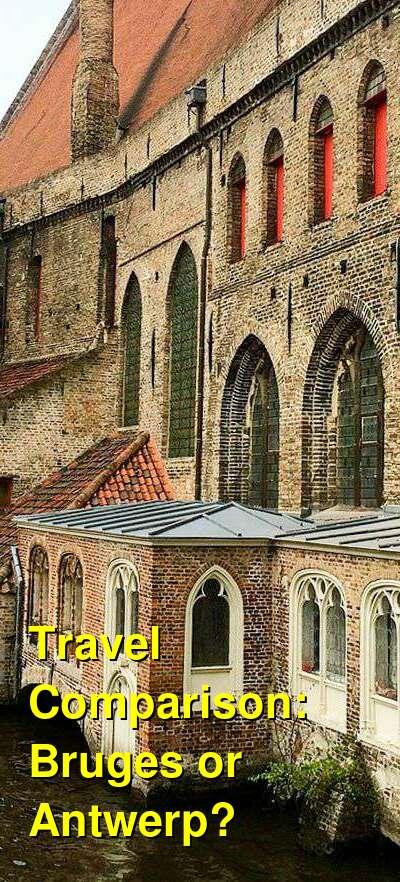 Bruges vs. Antwerp Travel Comparison