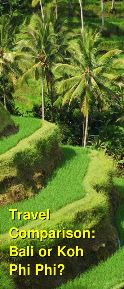 Bali vs. Koh Phi Phi Travel Comparison