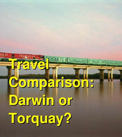 Darwin vs. Torquay Travel Comparison