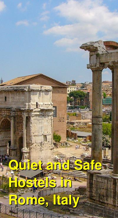 Quiet and Safe Hostels in Rome, Italy | Budget Your Trip