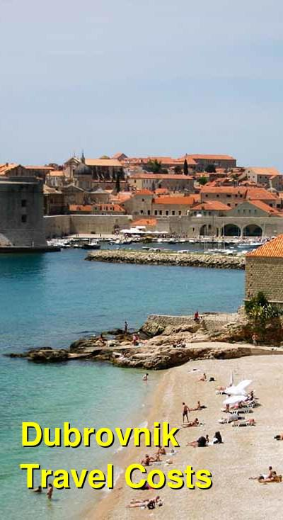 Dubrovnik Travel Cost - Average Price of a Vacation to Dubrovnik: Food & Meal Budget, Daily & Weekly Expenses | BudgetYourTrip.com