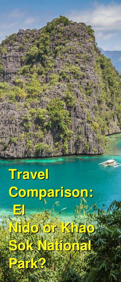 El Nido vs. Khao Sok National Park Travel Comparison