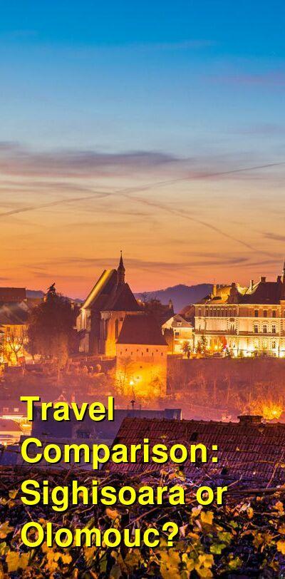 Sighisoara vs. Olomouc Travel Comparison