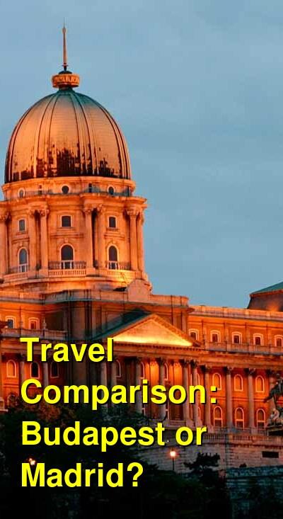Budapest vs. Madrid Travel Comparison