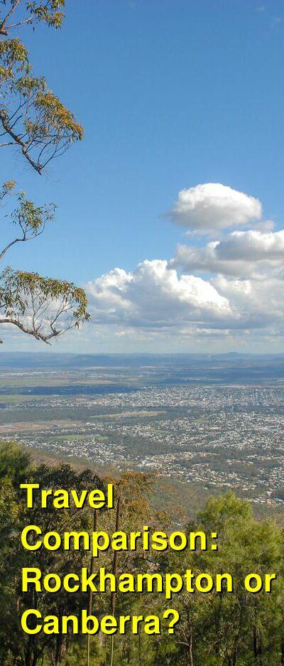 Rockhampton vs. Canberra Travel Comparison