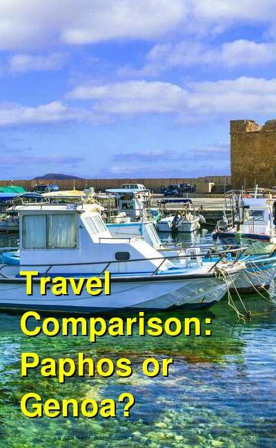 Paphos vs. Genoa Travel Comparison