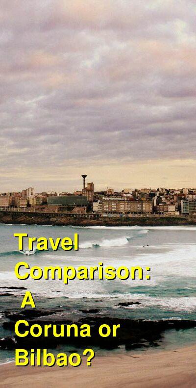 A Coruna vs. Bilbao Travel Comparison