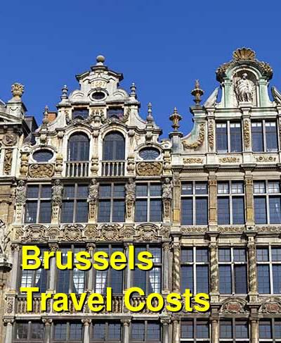 Brussels Travel Cost - Average Price of a Vacation to Brussels: Food & Meal Budget, Daily & Weekly Expenses | BudgetYourTrip.com