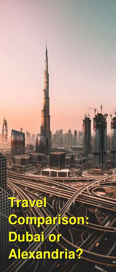 Dubai vs. Alexandria Travel Comparison