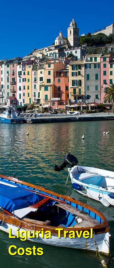 Liguria Travel Cost - Average Price of a Vacation to Liguria: Food & Meal Budget, Daily & Weekly Expenses | BudgetYourTrip.com