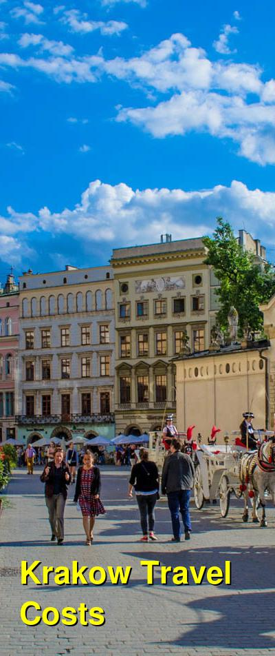 Krakow Travel Cost - Average Price of a Vacation to Krakow: Food & Meal Budget, Daily & Weekly Expenses | BudgetYourTrip.com