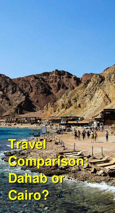 Dahab vs. Cairo Travel Comparison