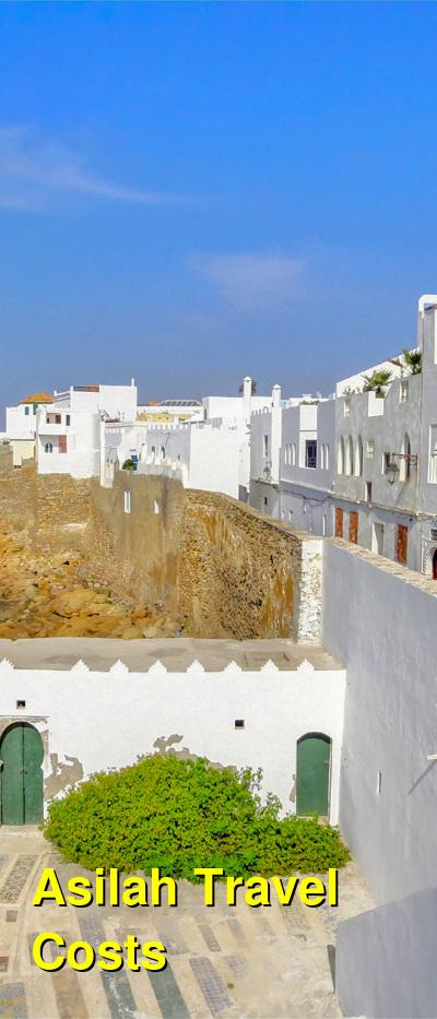 Asilah Travel Cost - Average Price of a Vacation to Asilah: Food & Meal Budget, Daily & Weekly Expenses | BudgetYourTrip.com