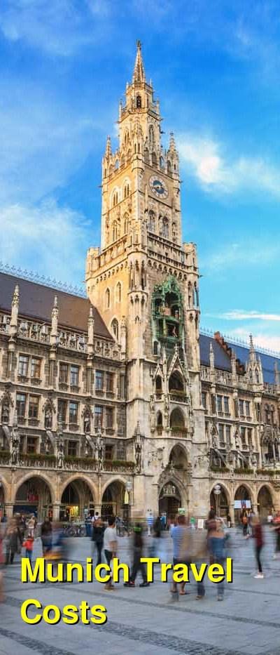 Munich Travel Cost - Average Price of a Vacation to Munich: Food & Meal Budget, Daily & Weekly Expenses | BudgetYourTrip.com