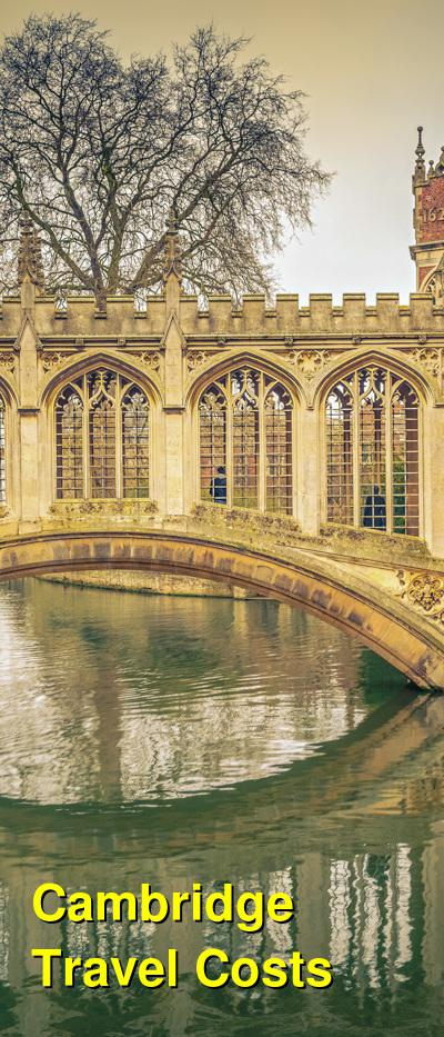 Cambridge Travel Cost - Average Price of a Vacation to Cambridge: Food & Meal Budget, Daily & Weekly Expenses | BudgetYourTrip.com