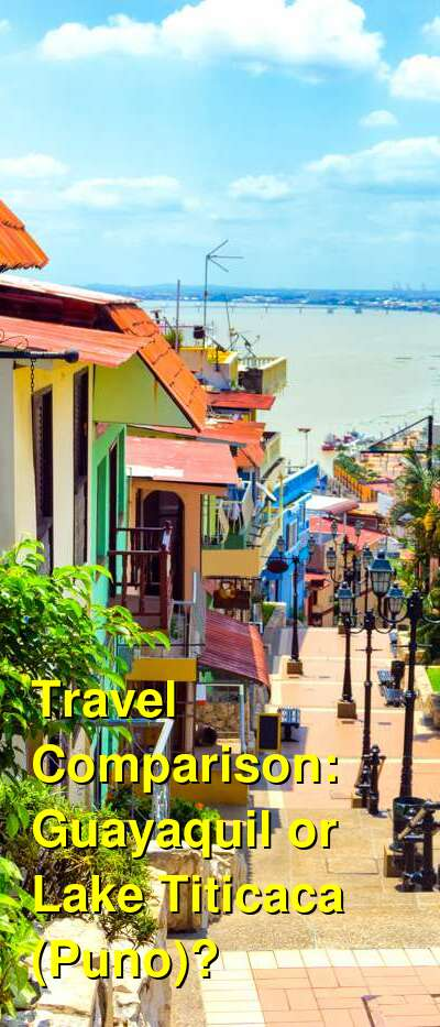 Guayaquil vs. Lake Titicaca (Puno) Travel Comparison