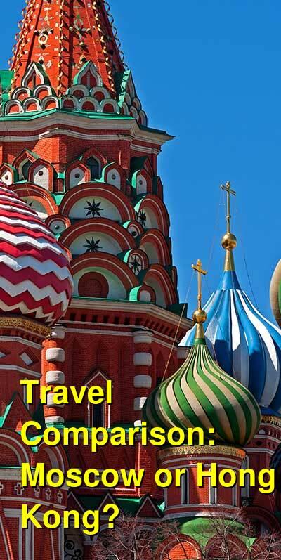Moscow vs. Hong Kong Travel Comparison