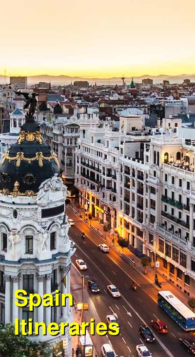 Spain Suggested Itineraries | BudgetYourTrip.com
