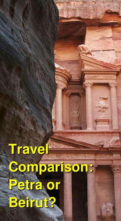 Petra vs. Beirut Travel Comparison