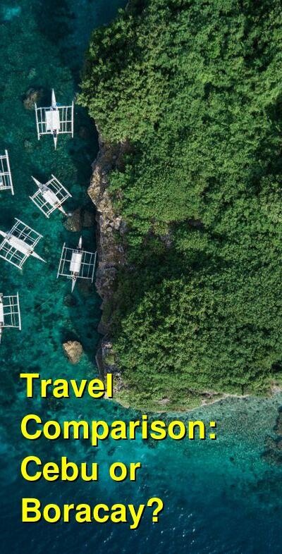 Cebu vs. Boracay Travel Comparison