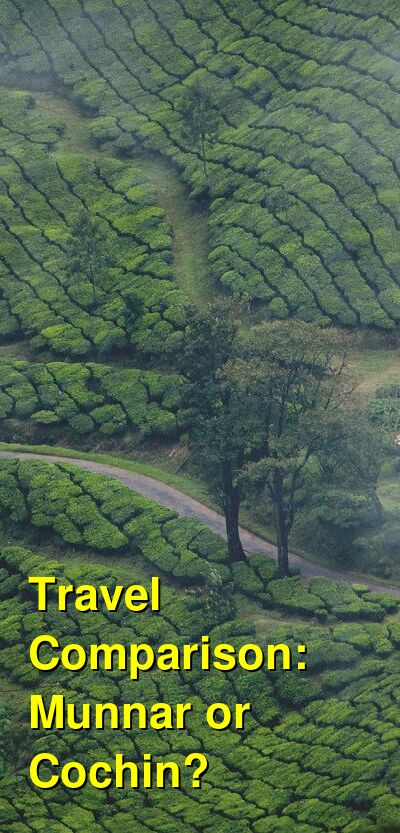 Munnar vs. Cochin Travel Comparison