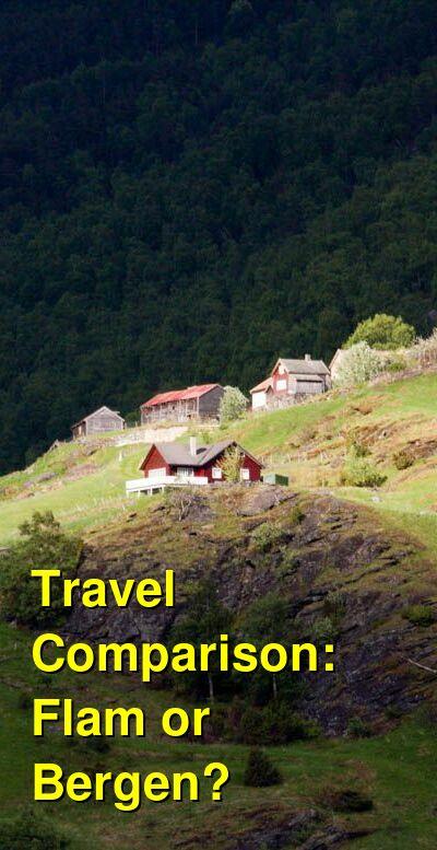 Flam vs. Bergen Travel Comparison