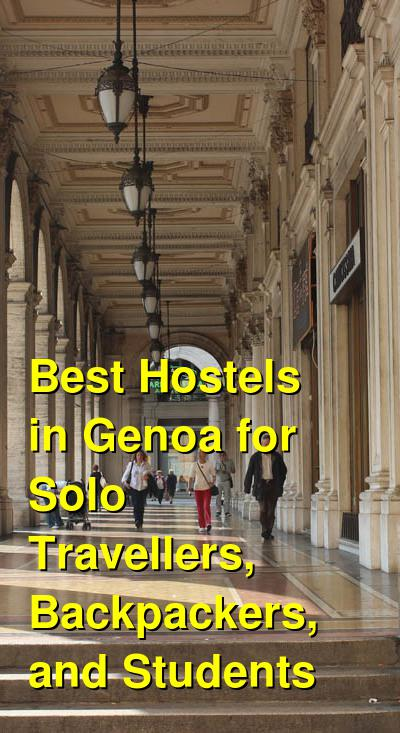 Best Hostels in Genoa for Solo Travellers, Backpackers, and Students | Budget Your Trip