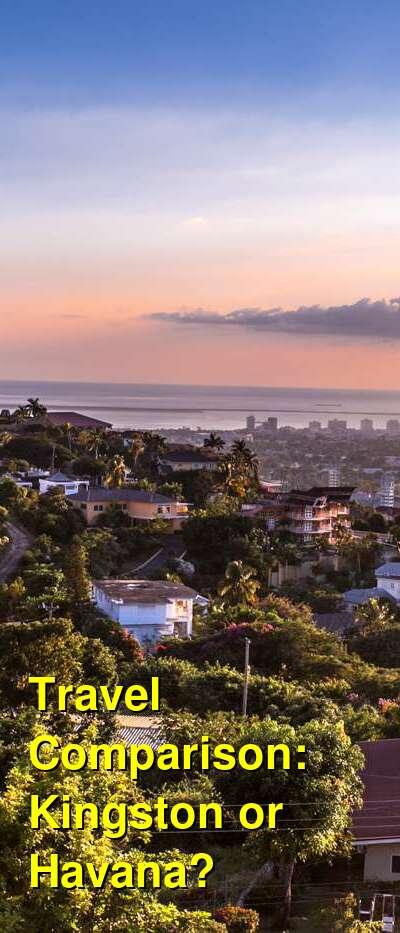 Kingston vs. Havana Travel Comparison
