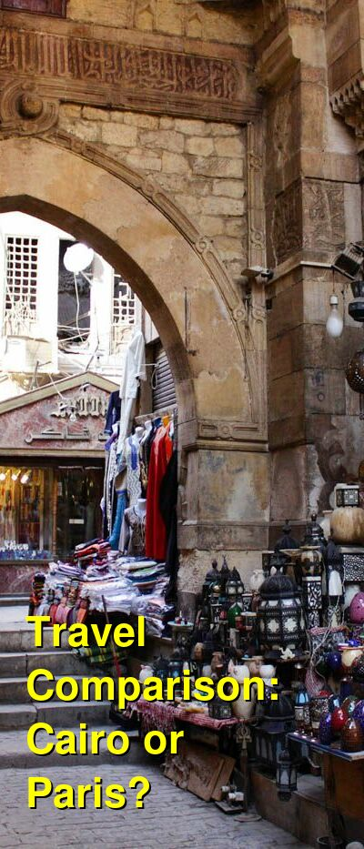 Cairo vs. Paris Travel Comparison