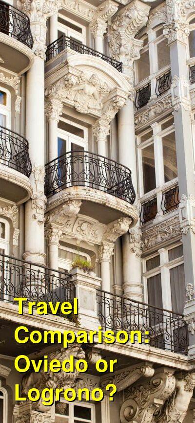 Oviedo vs. Logrono Travel Comparison