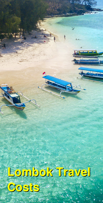 Lombok Travel Cost - Average Price of a Vacation to Lombok: Food & Meal Budget, Daily & Weekly Expenses | BudgetYourTrip.com