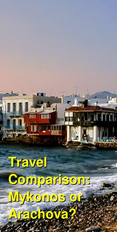 Mykonos vs. Arachova Travel Comparison