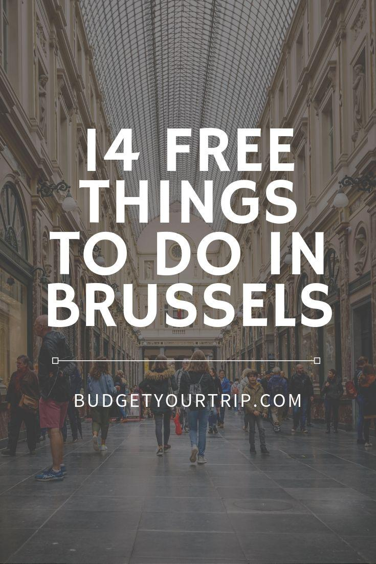 14 Free Things to do in Brussels, Belgium | Budget Your Trip