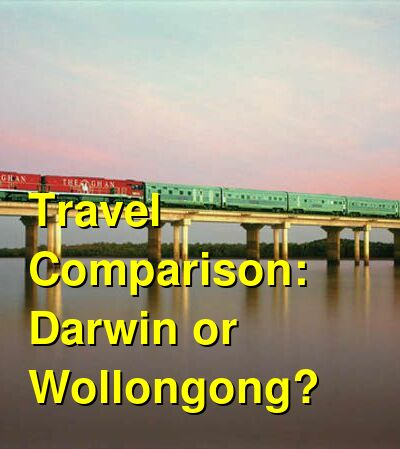 Darwin vs. Wollongong Travel Comparison
