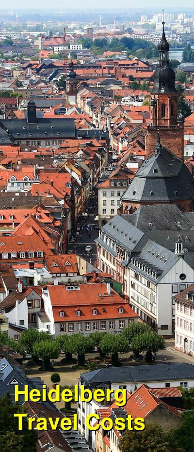 Heidelberg Travel Costs & Prices - Altstadt, Karlstorbahnhof & Konigstuhl-Mountain | BudgetYourTrip.com