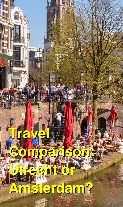 Utrecht vs. Amsterdam Travel Comparison