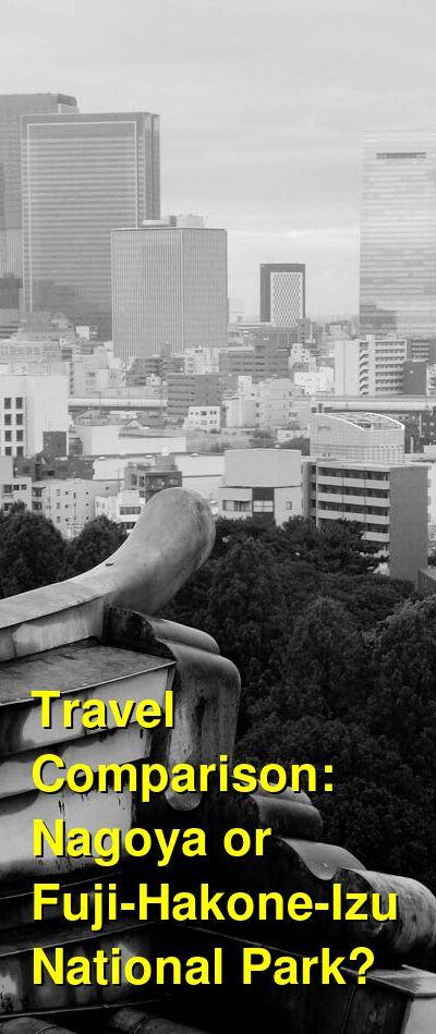 Nagoya vs. Fuji-Hakone-Izu National Park Travel Comparison