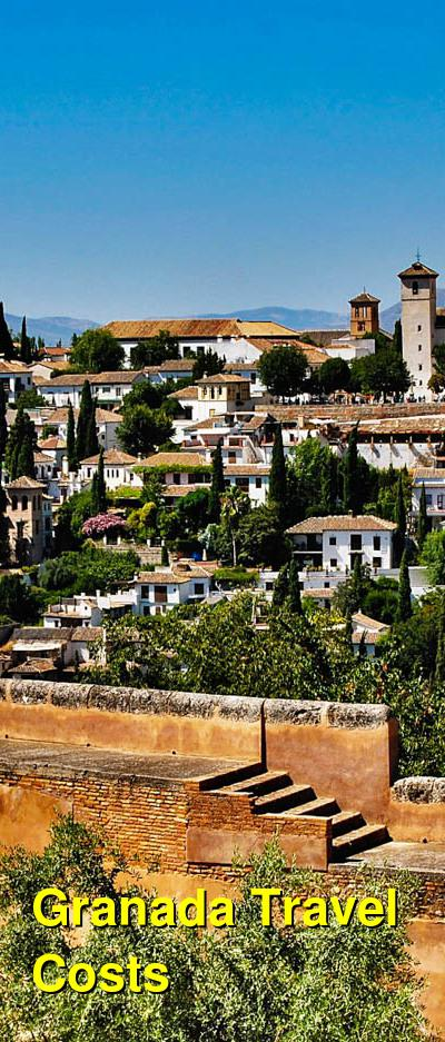 Granada Travel Cost - Average Price of a Vacation to Granada: Food & Meal Budget, Daily & Weekly Expenses | BudgetYourTrip.com