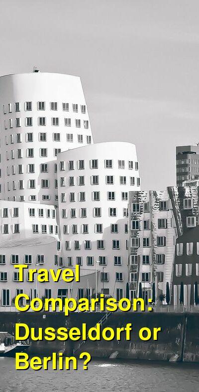 Dusseldorf vs. Berlin Travel Comparison