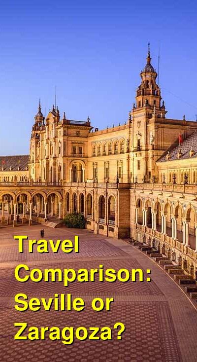 Seville vs. Zaragoza Travel Comparison