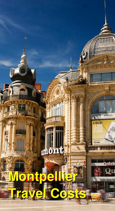Montpellier Travel Cost - Average Price of a Vacation to Montpellier: Food & Meal Budget, Daily & Weekly Expenses | BudgetYourTrip.com