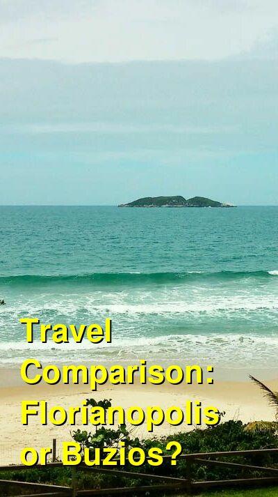 Florianopolis vs. Buzios Travel Comparison