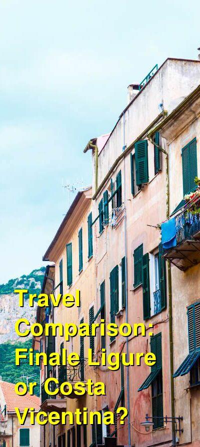Finale Ligure vs. Costa Vicentina Travel Comparison